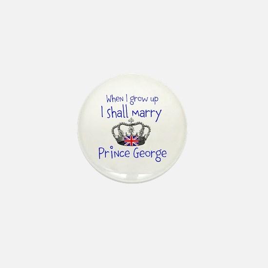 Marry Prince George Mini Button