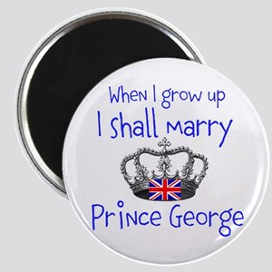 Marry Prince George Magnet