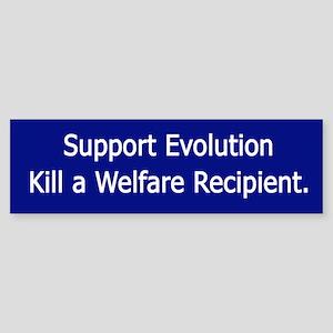 Support Evolution Bumper Sticker