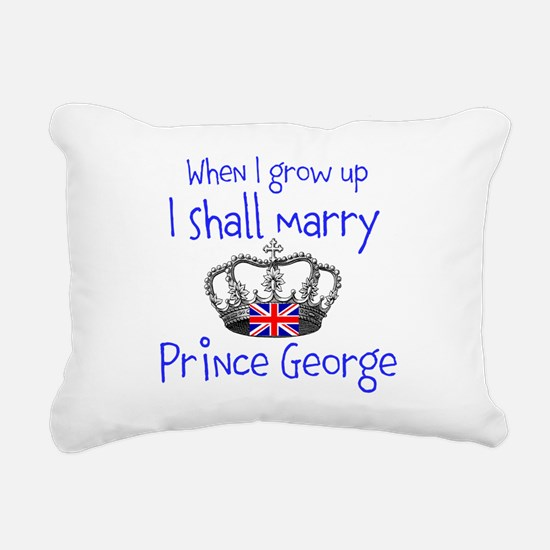 Marry Prince George Rectangular Canvas Pillow