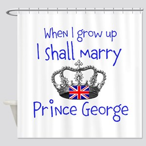 Marry Prince George Shower Curtain