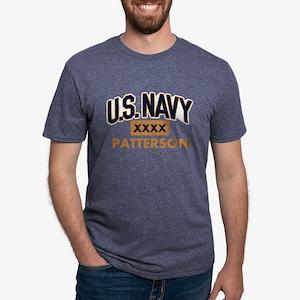 U.S. Navy Personalized Mens Tri-blend T-Shirt