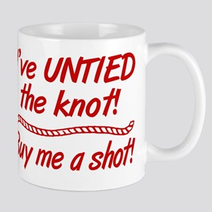 Untied The Knot Buy Me A Shot Mug