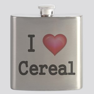 I LOVE CEREAL Flask