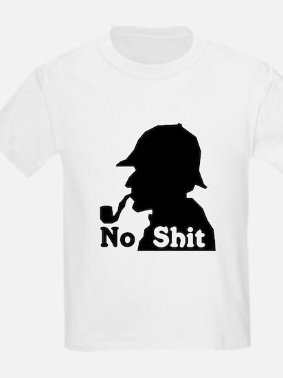 No Shit Sherlock Kids T-Shirt