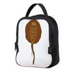 Spotted Amazon stingray v Neoprene Lunch Bag