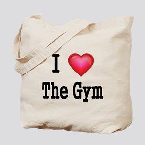 I LOVE THE GYM Tote Bag