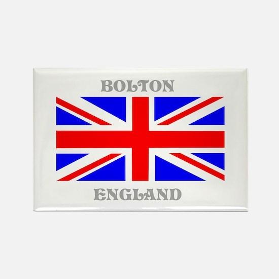 Bolton England Rectangle Magnet
