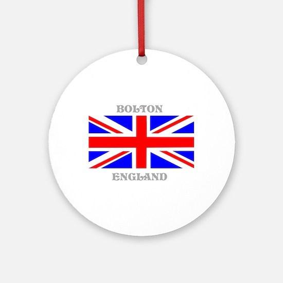 Bolton England Ornament (Round)