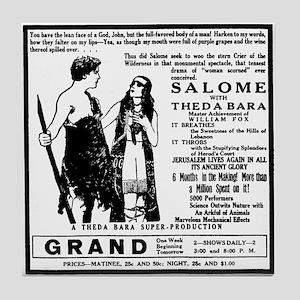 Theda Bara Salome Tile Coaster