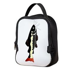 Amazon Redtail catfish v Neoprene Lunch Bag