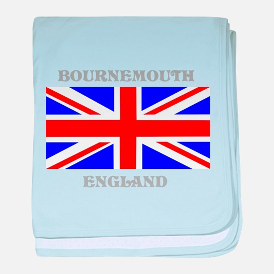 Bournemouth England baby blanket