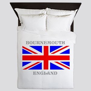 Bournemouth England Queen Duvet