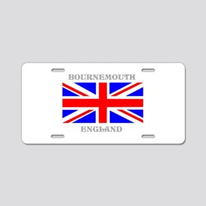 Bournemouth England Aluminum License Plate