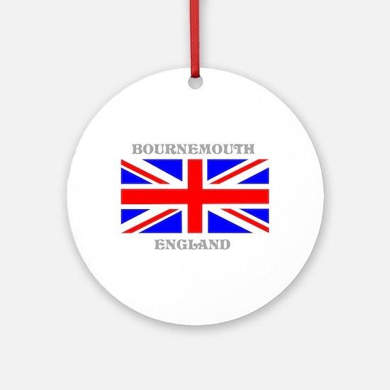 Bournemouth England Ornament (Round)