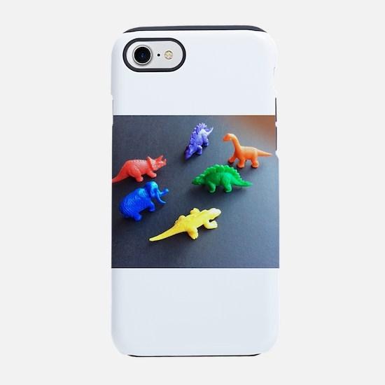 Dinosaur menagerie 4Isaac iPhone 7 Tough Case