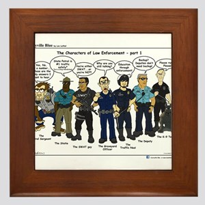 Characters of LE part 1 Framed Tile