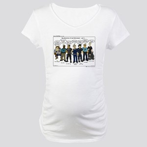 Characters of LE part 1 Maternity T-Shirt