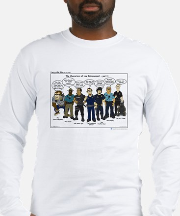Characters of LE part 1 Long Sleeve T-Shirt
