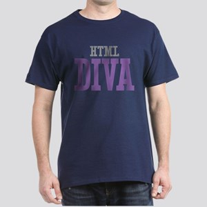 HTML DIVA Dark T-Shirt