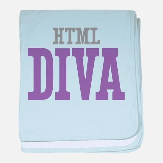 HTML DIVA baby blanket