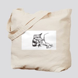 RCM Lookdown Abstract Fish Tote Bag