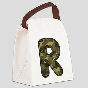 R Army Canvas Lunch Bag