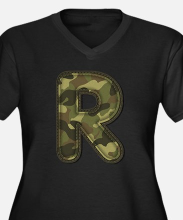 R Army Plus Size T-Shirt