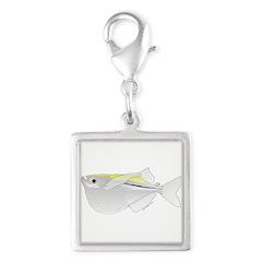 Silver Hatchetfish f Charms
