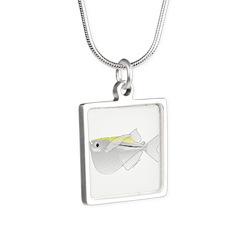 Silver Hatchetfish f Necklaces