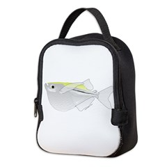 Silver Hatchetfish f Neoprene Lunch Bag