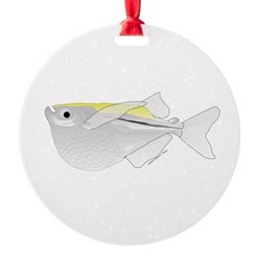 Silver Hatchetfish f Ornament