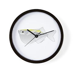 Silver Hatchetfish f Wall Clock