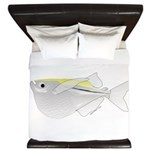 Silver Hatchetfish f King Duvet