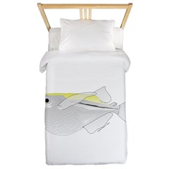 Silver Hatchetfish f Twin Duvet