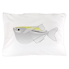 Silver Hatchetfish f Pillow Case