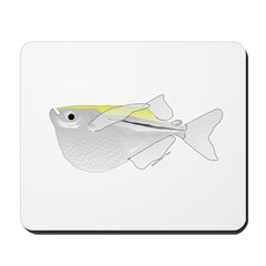 Silver Hatchetfish f Mousepad