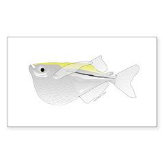 Silver Hatchetfish f Decal