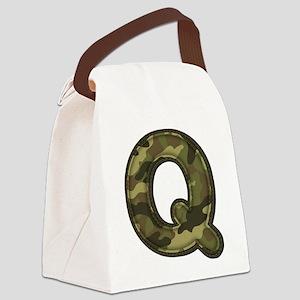 Q Army Canvas Lunch Bag