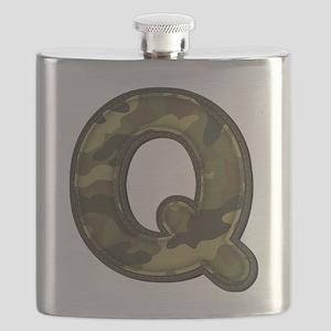 Q Army Flask