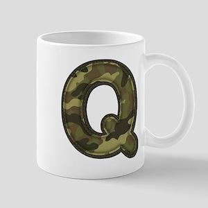 Q Army Mug
