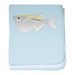 Silver Hatchetfish c baby blanket