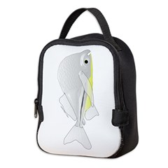 Silver Hatchetfish v Neoprene Lunch Bag