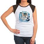 Waterslide Women's Cap Sleeve T-Shirt