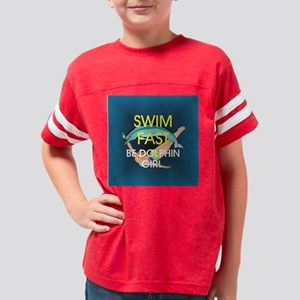 swimfastbdgcircle Youth Football Shirt