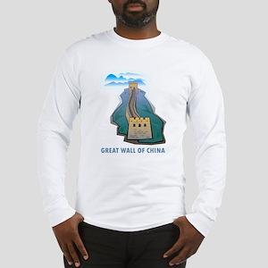 Great Wall Of China Long Sleeve T-Shirt