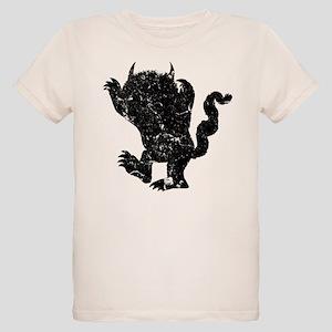 Wild Things Silhouette Organic Kids T-Shirt