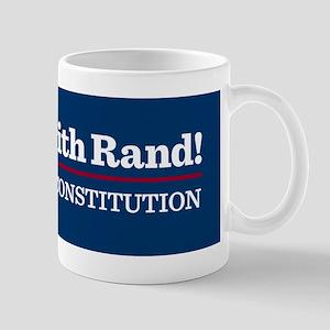 I Stand With Rand Mug