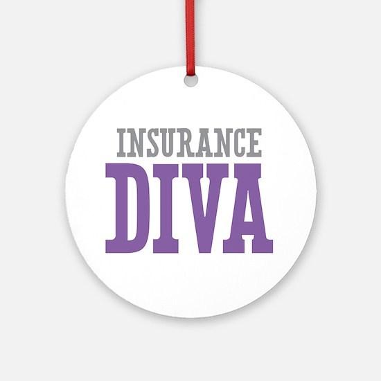 Insurance DIVA Ornament (Round)