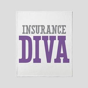 Insurance DIVA Throw Blanket